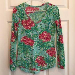 Lilly Pulitzer Long Sleeved T-shirt Medium